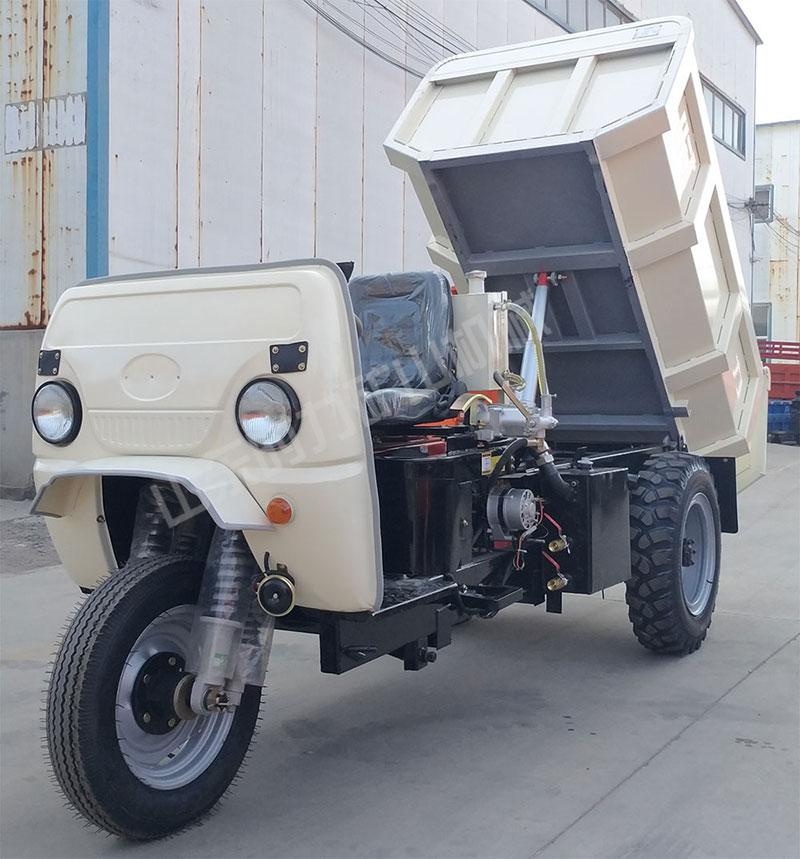 柴油矿用三轮车图片
