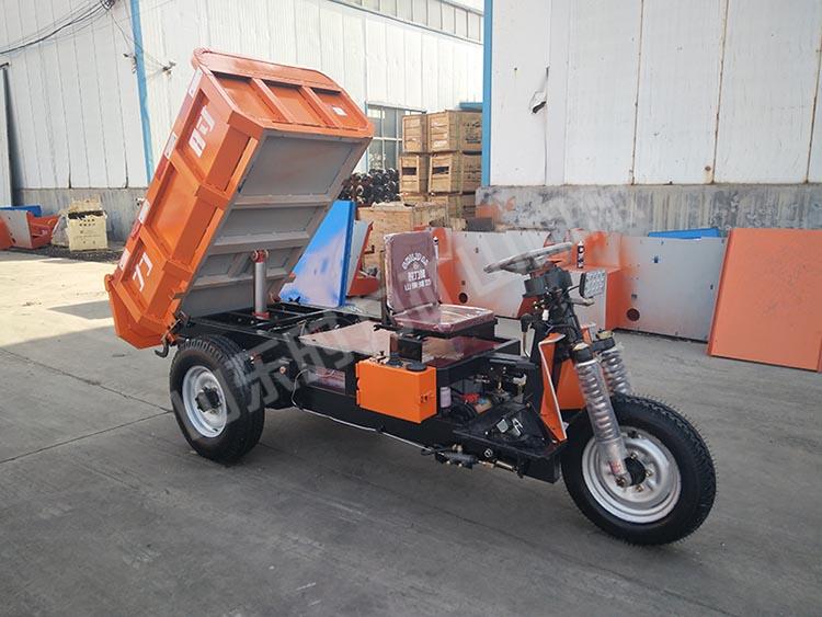 1吨电动矿用三轮车