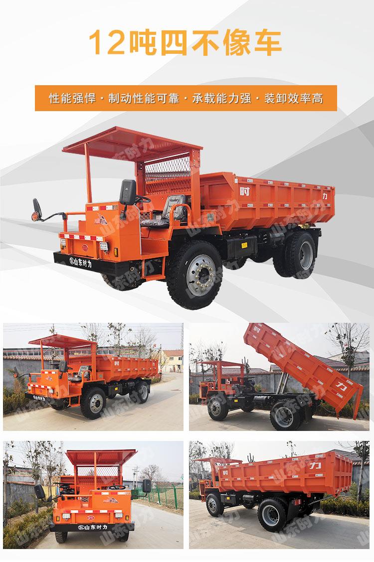 12吨四驱矿用四不像车实拍图