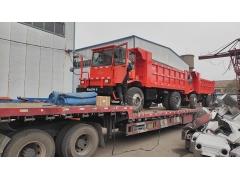福建某矿15吨矿用四不像运矿车发货_图片