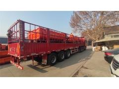 2台8吨矿用四不像车发往福建福州