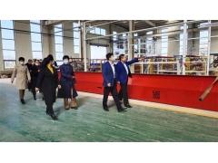 热烈欢迎潍城区委领导莅临时力集团考察指导