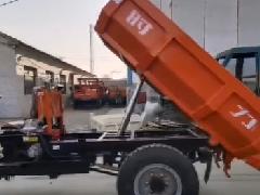 1吨电动矿用三轮车视频展示