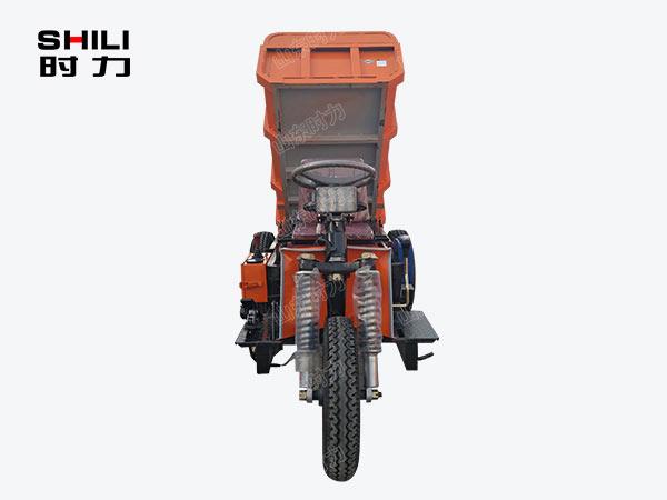 1吨矿用电动三轮车正面图