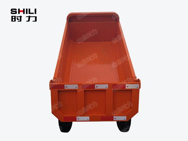1吨矿用电动三轮车后面图