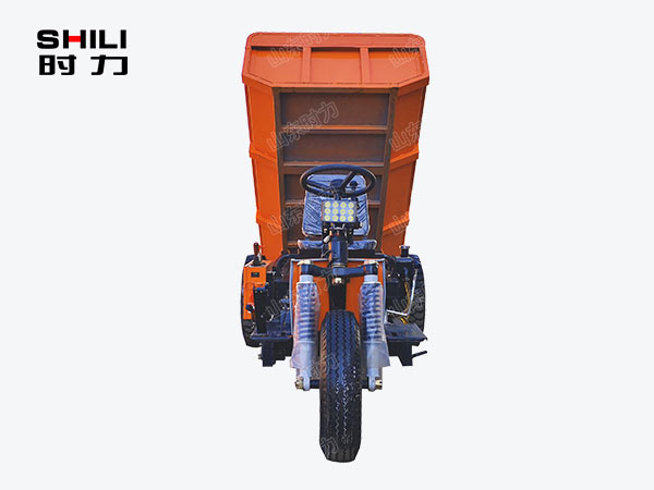 2吨矿用电动三轮车正面