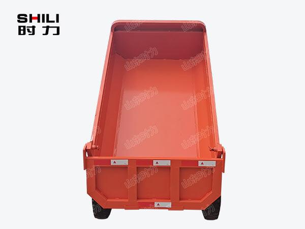 2吨矿用电动三轮车后面