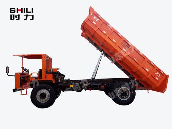 12吨四不像车侧面图