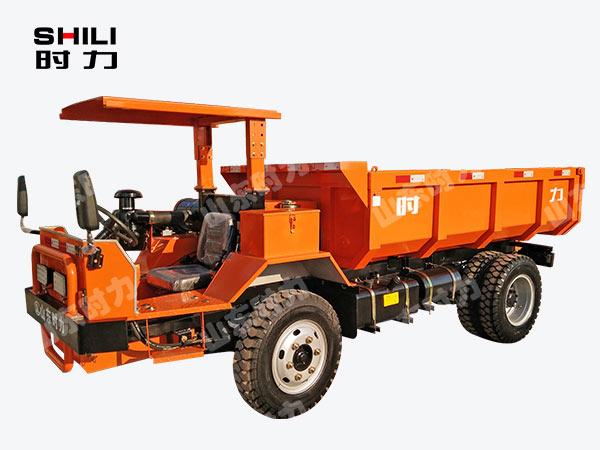 8吨矿用四不像车前侧面图