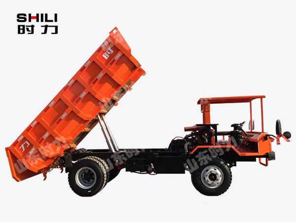 8吨矿用四不像车侧面图