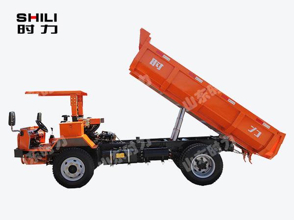 5吨矿用四不像车侧面