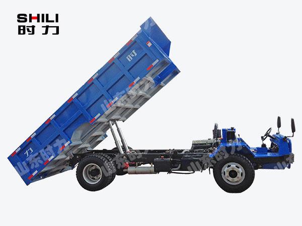 8吨四不像运矿车侧面