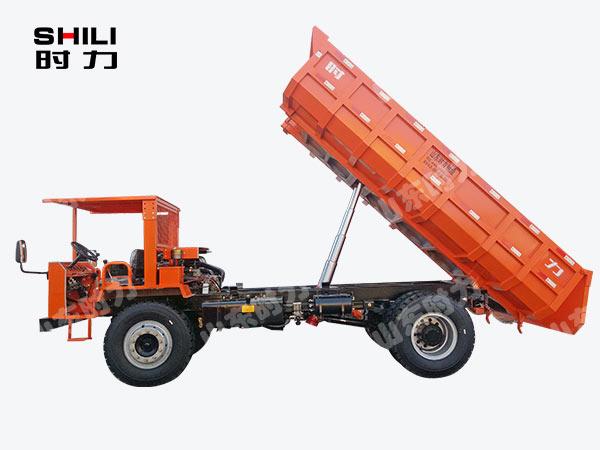 15吨四不像车侧面图
