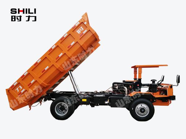 8吨四驱四不像车侧面升斗图