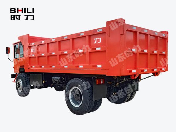 30吨矿用四不像车后侧面