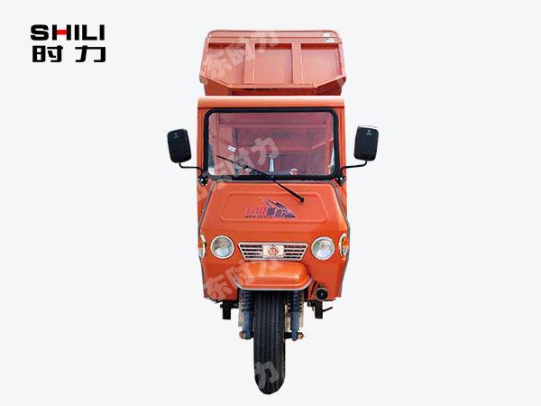 定制简易棚工程三轮车正面