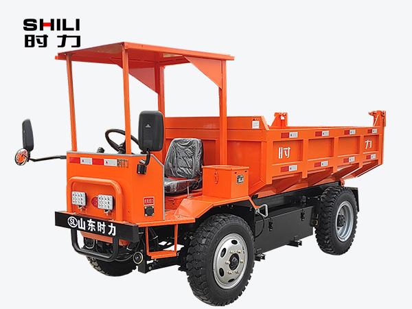 5吨矿用电动四不像车前侧照片