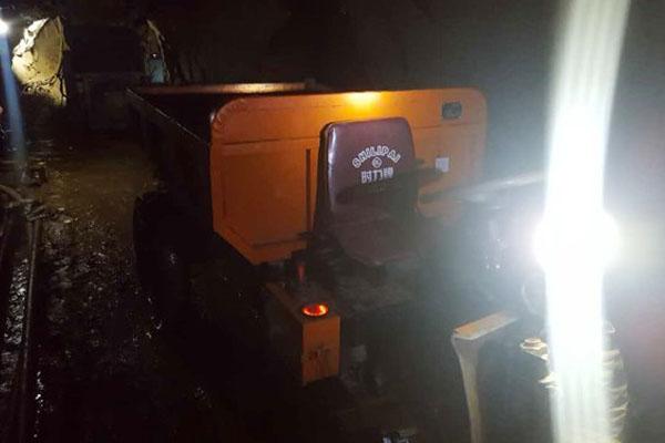 招远矿用电动三轮车某金矿使用案例
