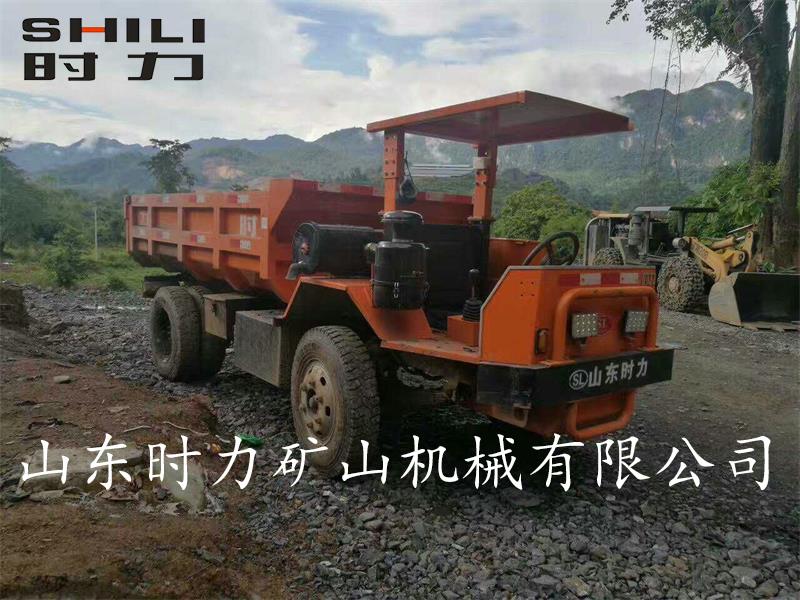 广西矿用四不像车使用案例